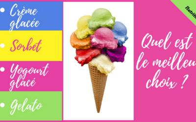 Sorbet, gelato, yogourt glacé, crème glacée… Lequel choisir?