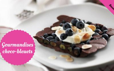 Gourmandises choco-bleuets