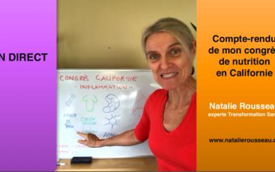 Compte-rendu du congrès de nutrition en Californie