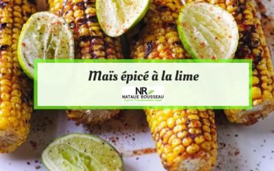 Maïs épicé à la lime