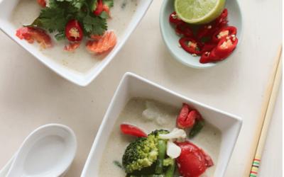 Curry vert express aux légumes