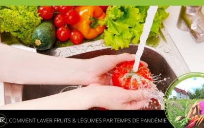 Comment laver les fruits et légumes en temps de pandémie
